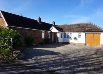 Thumbnail 4 bed detached bungalow for sale in The Rocks Road, West Malling