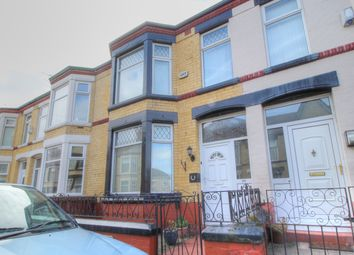 Thumbnail 3 bed terraced house for sale in Cranbourne Avenue, Birkenhead