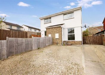 Thumbnail 2 bed semi-detached house to rent in Newbury Drive, Swindon, Wiltshire