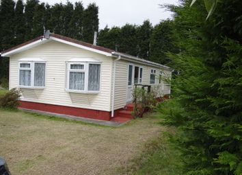 Thumbnail 3 bedroom mobile/park home for sale in Chichester Close, Foxhole