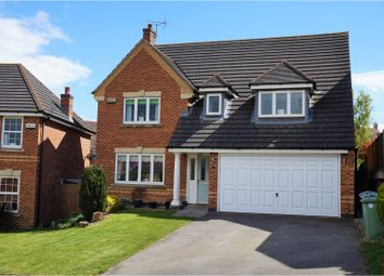 Thumbnail 4 bed detached house for sale in Berkeley Avenue, Grantham