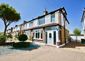 Thumbnail 4 bed semi-detached house for sale in Manor Lane, Sunbury-On-Thames
