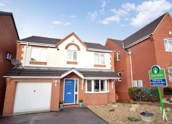Thumbnail 4 bed detached house for sale in Rowley Close, Swadlincote, Derbyshire