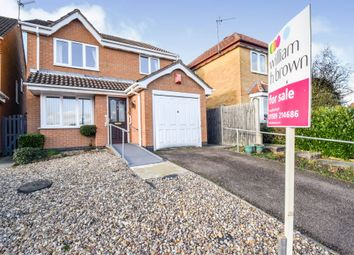 Thumbnail 3 bed detached house for sale in The Osiers, Loughborough