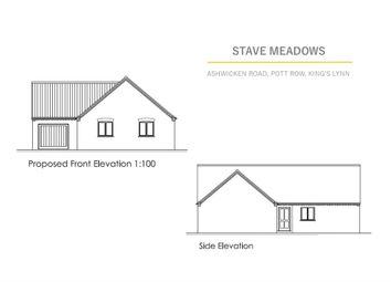 Thumbnail Detached bungalow for sale in Ashwicken Road, Pott Row, King's Lynn