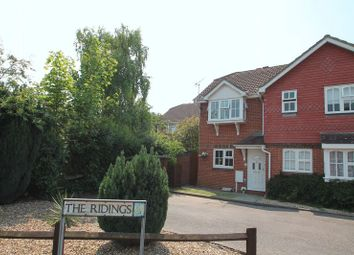 Thumbnail 2 bed semi-detached house for sale in The Ridings, Paddock Wood, Tonbridge