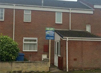 Thumbnail 2 bedroom terraced house to rent in Westway, Worksop, Nottinghamshire