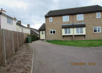 Thumbnail 3 bedroom semi-detached house to rent in Great North Road, Alconbury, Huntingdon