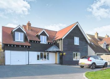 Thumbnail 4 bed detached house for sale in Church Street, Whaddon, Royston