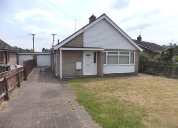 Thumbnail 2 bed detached bungalow for sale in Stow Road, Wisbech