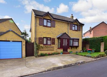Thumbnail 5 bed detached house for sale in Kingfisher Close, Newport, Isle Of Wight