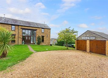Thumbnail 4 bedroom semi-detached house for sale in Herrieffs Barns, Main Street, North Newington, Banbury