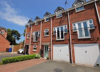 Thumbnail 4 bed town house for sale in Old Lodge Close, Uttoxeter