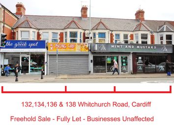 Thumbnail Restaurant/cafe for sale in 132, 134, 136, 138 Whitchurch Road, Heath, Cardiff