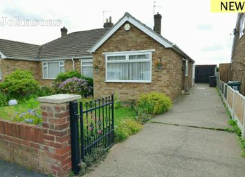 Thumbnail 2 bed semi-detached bungalow for sale in The Boulevard, Edenthorpe, Doncaster.