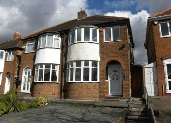 Thumbnail 3 bed semi-detached house to rent in Glenwood Road, Birmingham