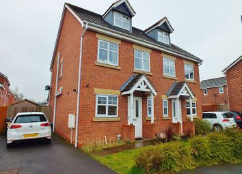 Thumbnail 4 bed semi-detached house for sale in Bryn Coch, Wrexham
