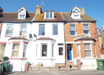 Thumbnail 3 bed terraced house for sale in Athelstan Road, Folkestone, Kent