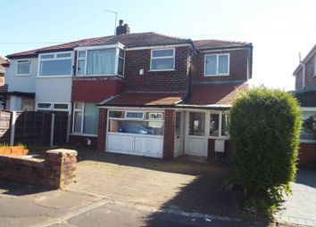 Thumbnail 4 bed semi-detached house for sale in Windsor Crescent, Prestwich, Manchester