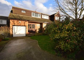 Thumbnail 4 bed semi-detached house for sale in Hillcrest Close, Horndon-On-The-Hill, Essex