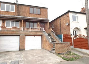 Thumbnail 2 bed semi-detached house to rent in Hallam Road, Mapperley, Nottingham