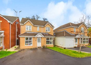 Thumbnail 4 bed detached house for sale in Limetree Close, Church Village, Pontypridd