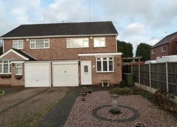 Thumbnail 3 bed semi-detached house to rent in Southfield Close, Weddington, Nuneaton