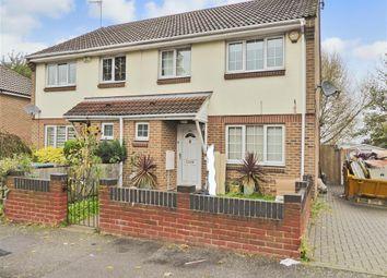 Thumbnail 3 bedroom semi-detached house for sale in Haldane Gardens, Gravesend, Kent