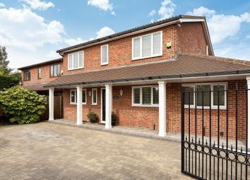 Thumbnail 4 bedroom detached house for sale in Egham, Surrey