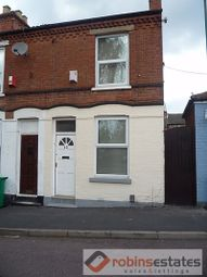 Thumbnail 3 bed terraced house to rent in Brixton Road, Nottingham