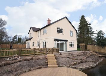 Thumbnail 5 bed detached house for sale in West Road, Weaverham, Northwich