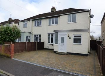 Thumbnail 3 bed semi-detached house for sale in Causeway Crescent, Totton