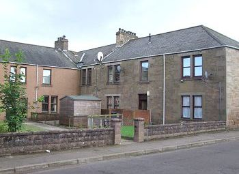 Thumbnail 1 bed flat to rent in Kinloch Street, Carnoustie