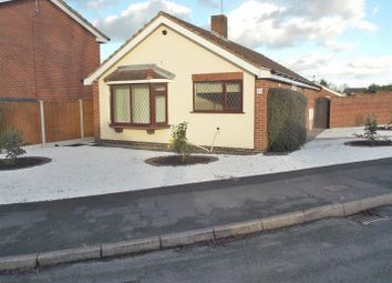 Thumbnail 3 bed detached bungalow for sale in Huntingdon Drive, Castle Donington, Derby