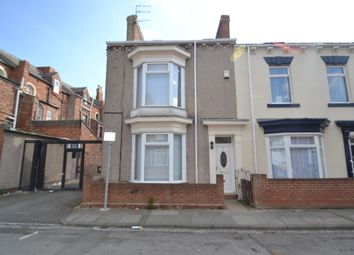 Thumbnail 3 bed end terrace house to rent in Stotfold Street, Hartlepool