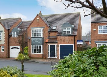 Thumbnail 5 bedroom detached house for sale in Village Garth, Wigginton, York