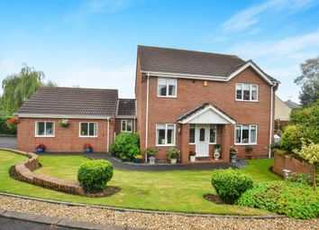 Thumbnail 4 bedroom detached house for sale in The Paddocks, Pleasley, Mansfield