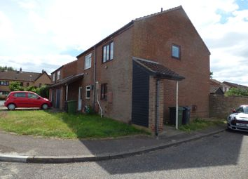 Thumbnail End terrace house to rent in Stone Breck, New Costessey, Norwich