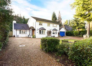 Thumbnail 4 bed detached house for sale in Glebe Lane, Rushmoor, Farnham, Surrey