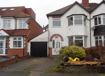 Thumbnail 3 bed semi-detached house to rent in Bushmore Rd, Hall Green, Birmingham