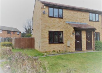 Thumbnail 2 bed end terrace house to rent in Evans Close, Greenhithe