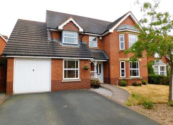4 bed detached house for sale in Drake Avenue, Penkridge, Stafford ST19
