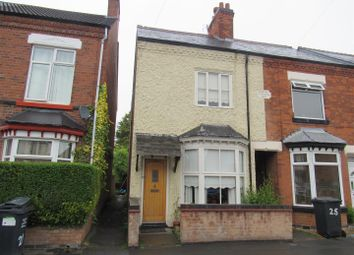 Thumbnail 3 bed terraced house for sale in Sandford Road, Syston, Leicester