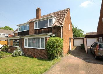 Thumbnail 3 bed semi-detached house for sale in Stratton Road, Sunbury-On-Thames, Surrey