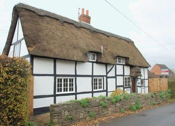 Thumbnail 3 bed detached house for sale in Mill Lane, Oversley Green, Alcester
