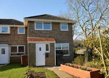Thumbnail 3 bed end terrace house to rent in Cottingham Drive, Moulton, Northampton