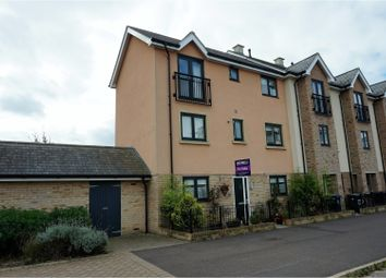 Thumbnail 4 bedroom end terrace house for sale in Chieftain Way, Cambridge