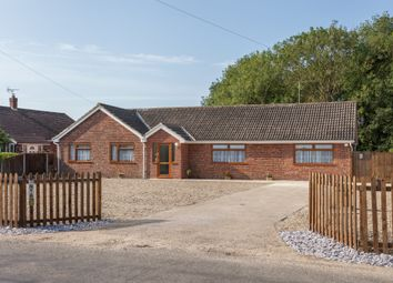 Thumbnail 4 bed detached bungalow for sale in Staithe Road, Burgh St. Peter, Beccles