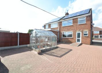 Thumbnail 3 bed semi-detached house for sale in Lancaster Road, Scunthorpe
