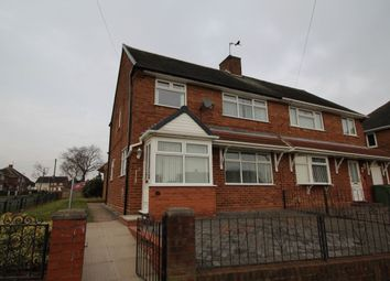 Thumbnail 3 bed semi-detached house to rent in Raven Crescent, Wednesfield, Wolverhampton